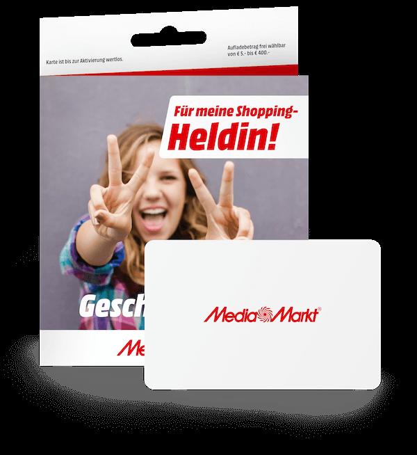 """Geschenkkarte """"Für meine Shopping Heldin!"""""""